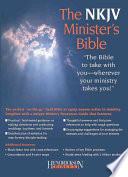 The Nkjv Minister s Bible Black