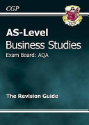 As Business Studies Aqa Revision Guide