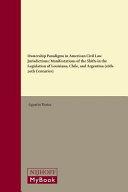 Ownership Paradigms In American Civil Law Jurisdictions book