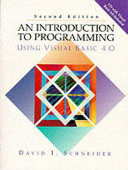 An Introduction to Programming Using Visual Basic 4 0