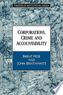 Corporations  Crime and Accountability