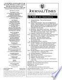 CAHPERD Journal Times