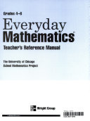 Everyday Mathematics  Teacher s reference manual  Gr  4 6