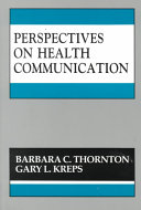 Perspectives on Health Communication