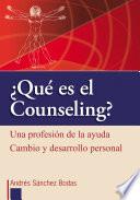 Qu Es El Counseling