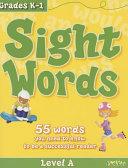 Sight Words  Level a  Flash Kids Workbooks