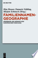 Familiennamengeographie