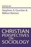 Christian Perspectives on Sociology