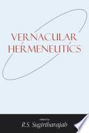 Vernacular Hermeneutics