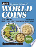 2016 Standard Catalog of World Coins 2001 Date