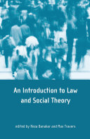 Theory and Method in Socio-legal Research