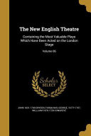 NEW ENGLISH THEATRE