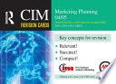 CIM Revision Cards  Marketing Planning 04 05