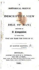download ebook a historical sketch and descriptive view of the isle of man pdf epub