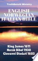 English Norwegian Italian Bible