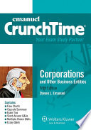 Emanuel CrunchTime for Corporations and Other Business Entities