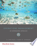 Operations Management  An Integrated Approach  6th Edition