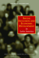 Social Inclusion and Economic Development in Latin America