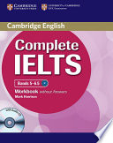 Complete IELTS Bands 5-6.5 Workbook Without Answers with Audio CD Topic Based Units For Homework