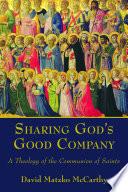Sharing God s Good Company
