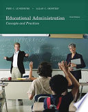 Educational Administration  Concepts and Practices