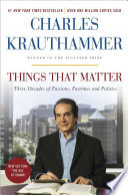 Things That Matter Book PDF