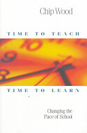 Time to Teach  Time to Learn