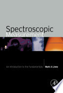 Spectroscopic Measurement book