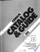Census Catalog and Guide