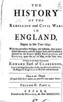 download ebook the history of the rebellion and civil wars in england pdf epub