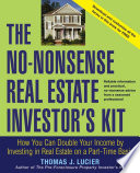 the no nonsense real estate investor s kit