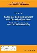 Kultur der Selbstständigkeit und Diversity Education