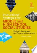 Instructional Strategies for Middle and High School Social Studies