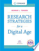 Research Strategies for a Digital Age Strategies For A Digital Age