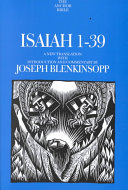 Isaiah 1-39 : middle of a paradigm shift in biblical studies,...