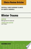 Winter Trauma An Issue Of Critical Care Nursing Clinics E Book
