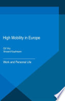 High Mobility In Europe book