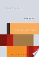 Thomas Mann in English