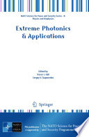 Extreme Photonics   Applications : study institute in laser control...
