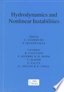Hydrodynamics and Nonlinear Instabilities