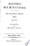 Jahrbücher der Literatur