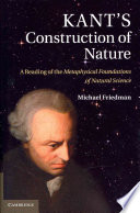 Kant s Construction of Nature