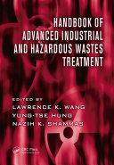 Handbook of Advanced Industrial and Hazardous Wastes Treatment Book