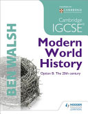 Cambridge Igcse Modern World History