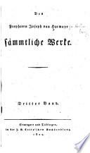 Des freyherrn Joseph von Hormayr Sämmtliche werke ...