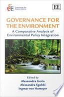Governance for the Environment