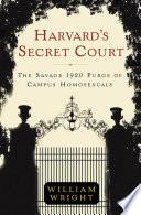 Harvard s Secret Court