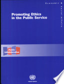 Promoting Ethics in the Public Service