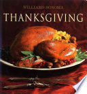 Williams Sonoma Collection Thanksgiving