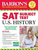Barron s SAT Subject Test in U S  History